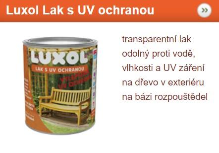 Luxol Lak s UV ochranou